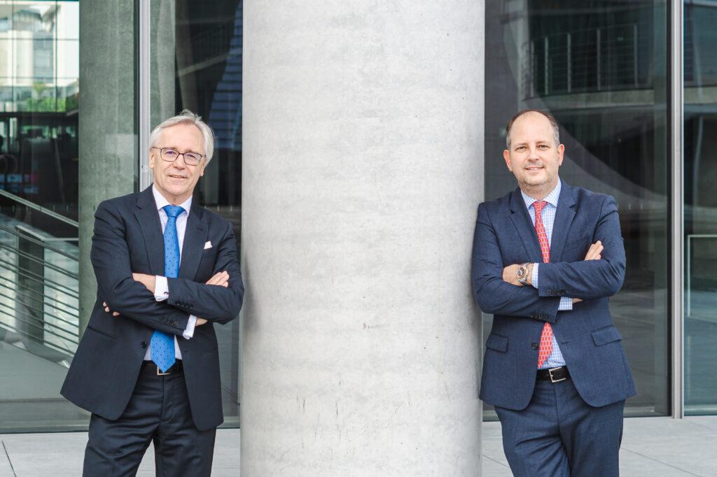 BKS-Präsident Jürgen Sonder und Vizepräsident Dr. Marcel Köchling